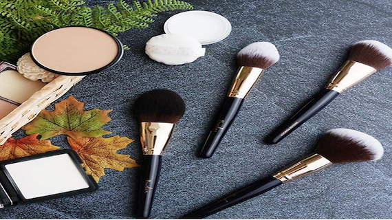 Types of face Brushes and their use